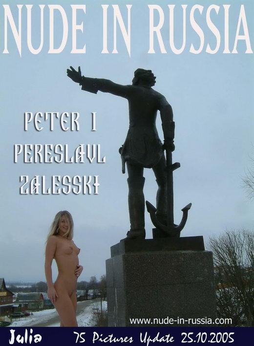 Julia - `Peter I Pereslavl Zalesski` - for NUDE-IN-RUSSIA