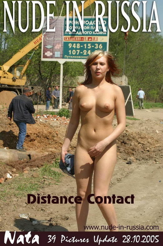 Nata - `Distance Contact` - for NUDE-IN-RUSSIA