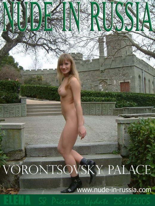 Elena - `Vorontsovsky Palace` - for NUDE-IN-RUSSIA