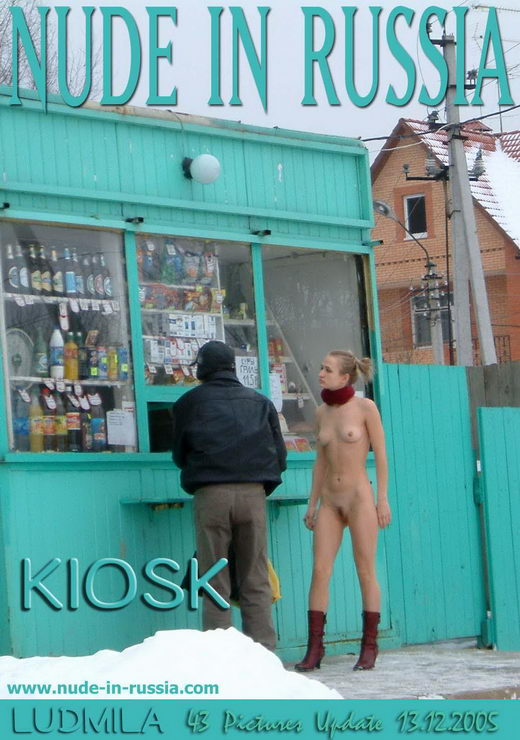 Ludmila - `Kiosk` - for NUDE-IN-RUSSIA