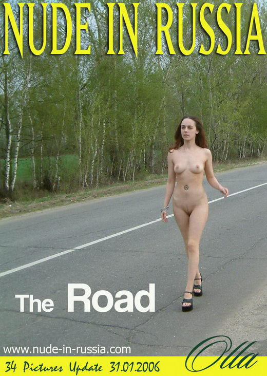 Olla - `The Road` - for NUDE-IN-RUSSIA