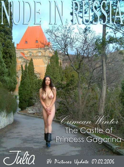 Julia - `The Castle of Princess Gagarina` - for NUDE-IN-RUSSIA