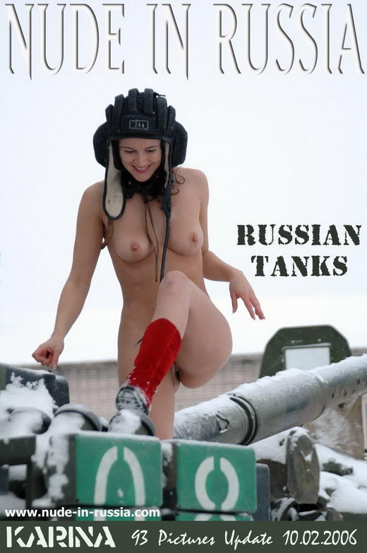 Karina - `Russian Tanks` - for NUDE-IN-RUSSIA
