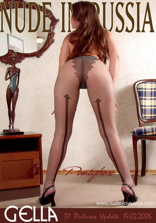 Gella - `Pantyhose` - for NUDE-IN-RUSSIA