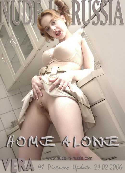 Vera - `Home Alone` - for NUDE-IN-RUSSIA