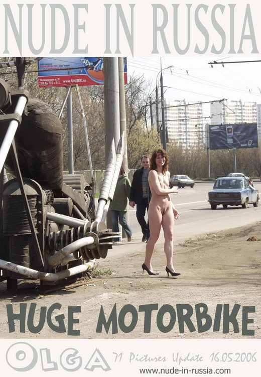 Olga - `Huge MotorBike` - for NUDE-IN-RUSSIA