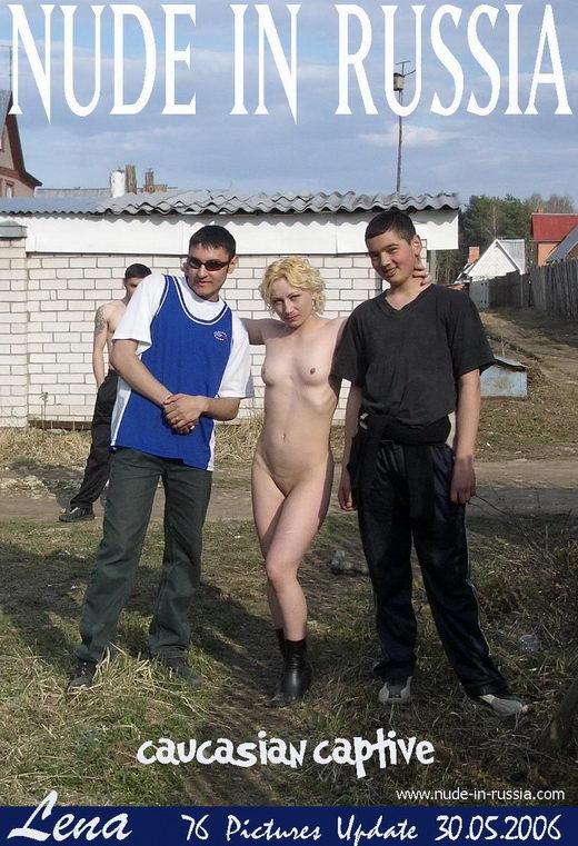 Lena - `Caucasian Captive` - for NUDE-IN-RUSSIA