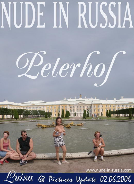Luisa - `Peterhof` - for NUDE-IN-RUSSIA