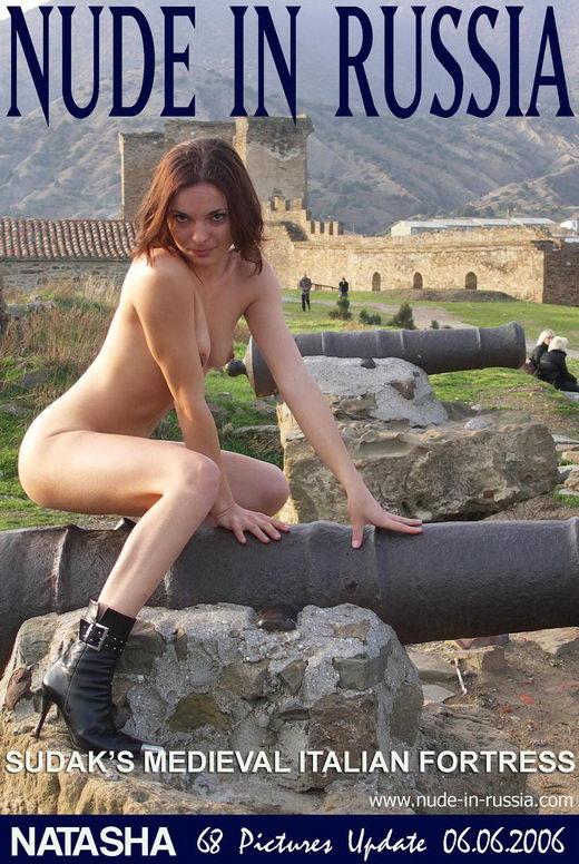 Natasha - `Sudak's Medieval Italian Fortress` - for NUDE-IN-RUSSIA