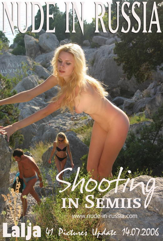 Lalja - `Shooting in Semiis` - for NUDE-IN-RUSSIA