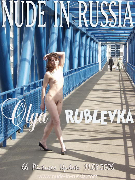 Olga - `Rublevka` - for NUDE-IN-RUSSIA