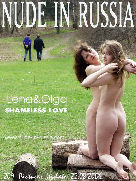 Lena & Olga - `Shameless Love` - for NUDE-IN-RUSSIA