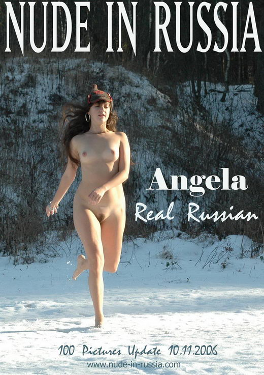 Angela - `Real Russian` - for NUDE-IN-RUSSIA