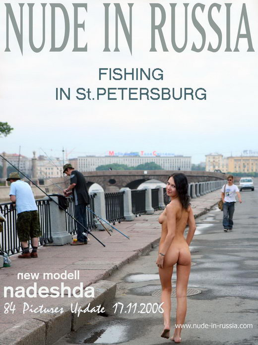 Nadeshda - `Fishing in St.Petersburg` - for NUDE-IN-RUSSIA