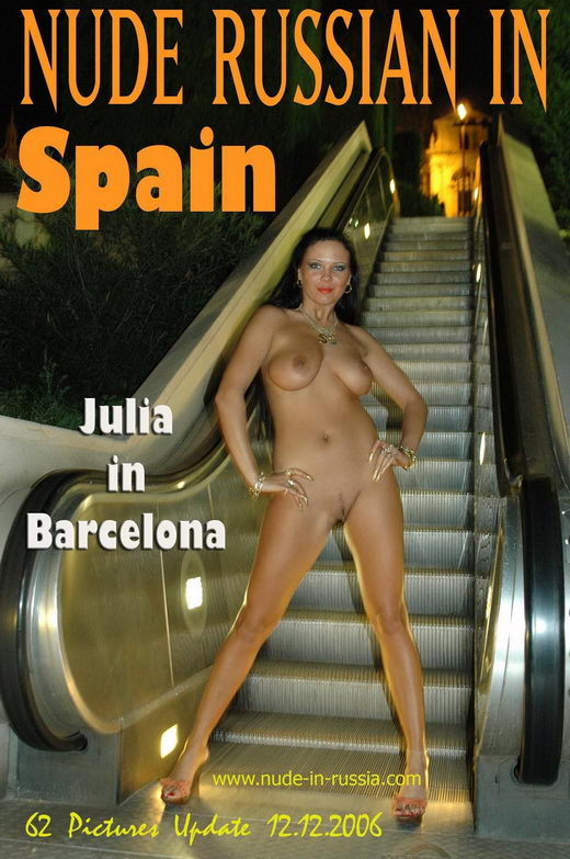 Julia - `In Barcelona` - for NUDE-IN-RUSSIA