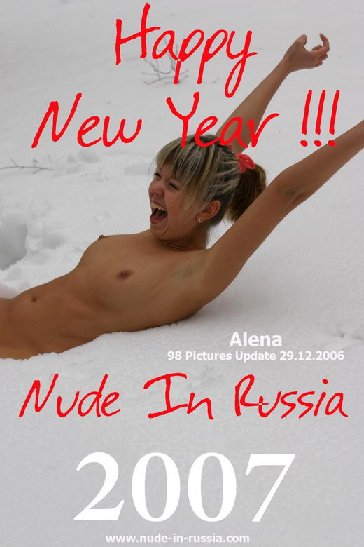 Alena - `Happy New Year` - for NUDE-IN-RUSSIA