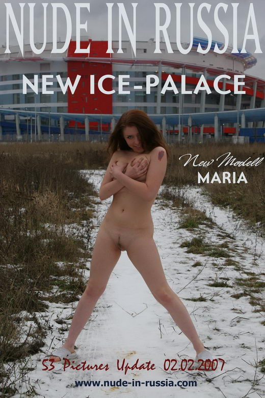 Maria - `New Ice-Palace` - for NUDE-IN-RUSSIA