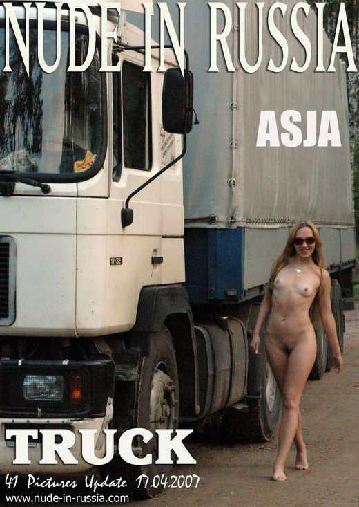 Asja - `Truck` - for NUDE-IN-RUSSIA