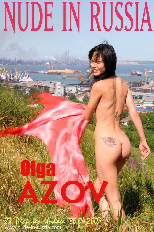 Olga - `Azov` - for NUDE-IN-RUSSIA