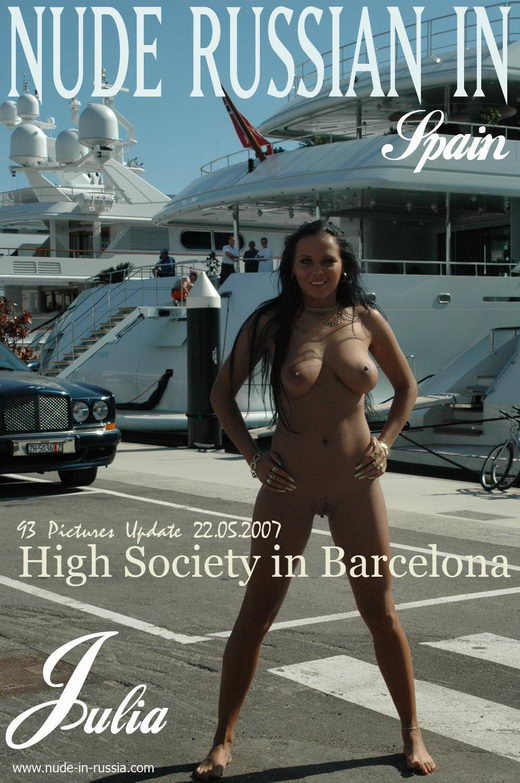 Julia - `High Society in Barcelona` - for NUDE-IN-RUSSIA