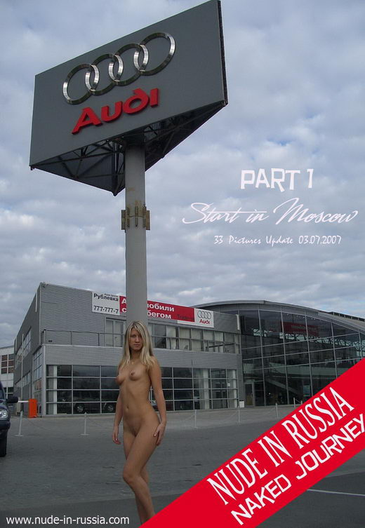 Julia - `Naked Journey - Part I - Start Moscow` - for NUDE-IN-RUSSIA