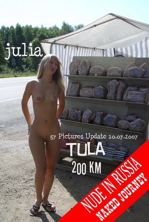 Julia - `Naked Journey - Part II - Tula` - for NUDE-IN-RUSSIA