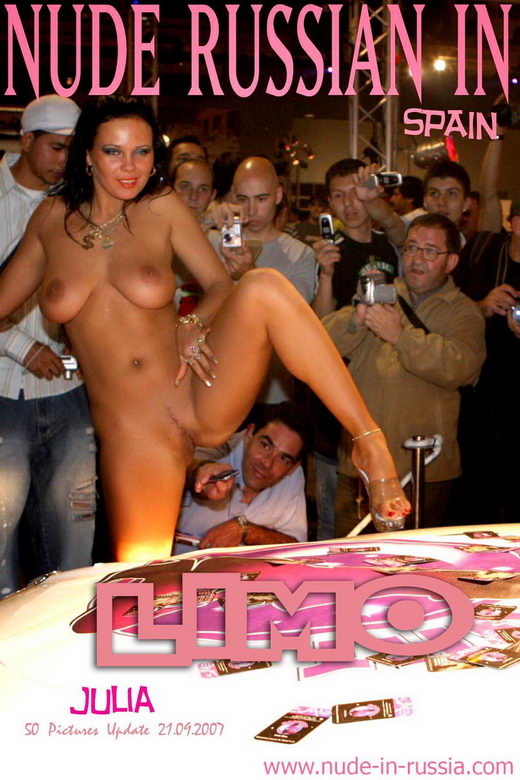 Julia - `Limo` - for NUDE-IN-RUSSIA