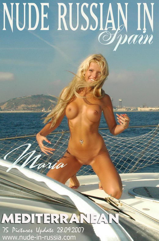 Maria - `Mediterranean` - for NUDE-IN-RUSSIA