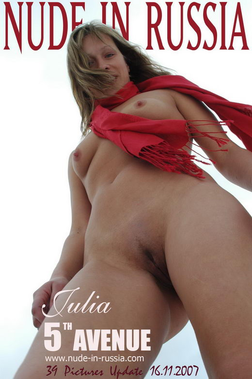 Julia - `5th Avenue` - for NUDE-IN-RUSSIA