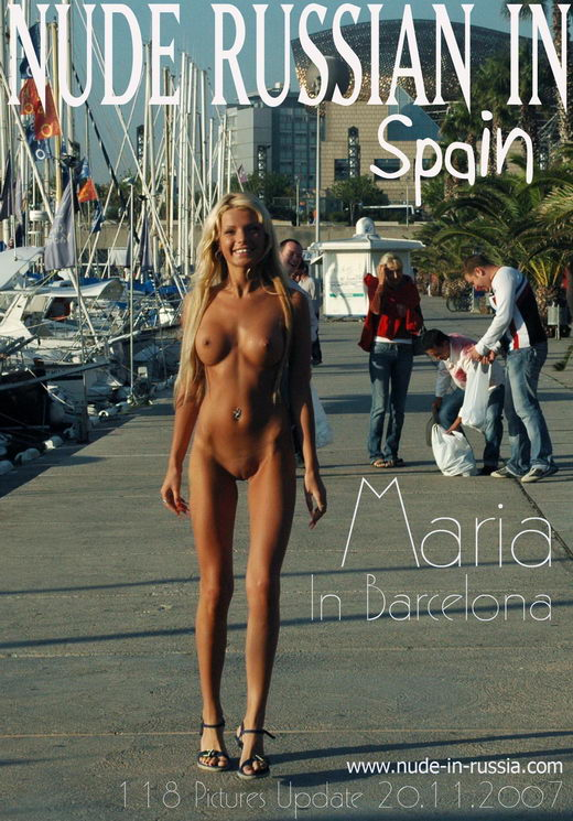 Maria - `In Barcelona` - for NUDE-IN-RUSSIA