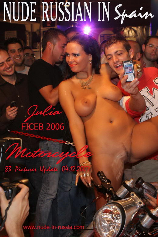 Julia - `Motorcycle` - for NUDE-IN-RUSSIA