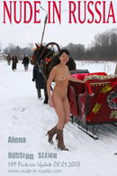 Alena in Russian Sleigh gallery from NUDE-IN-RUSSIA