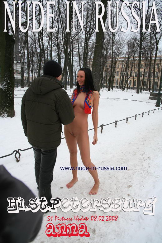 Anna - `Hi, St.Petersburg` - for NUDE-IN-RUSSIA