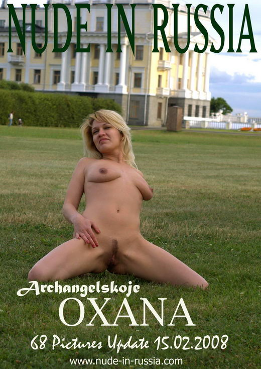 Oxana - `Archangelskoje` - for NUDE-IN-RUSSIA