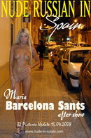 Maria - Barcelona Sants after Show