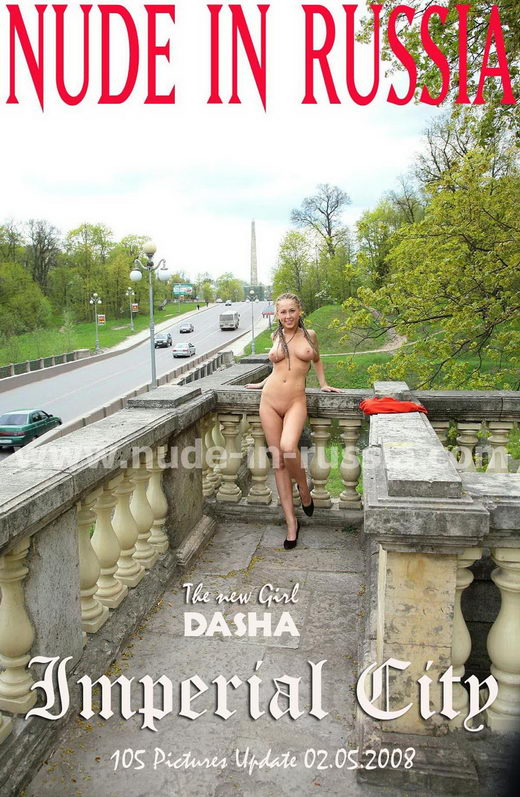 Dasha - `Imperial City` - for NUDE-IN-RUSSIA