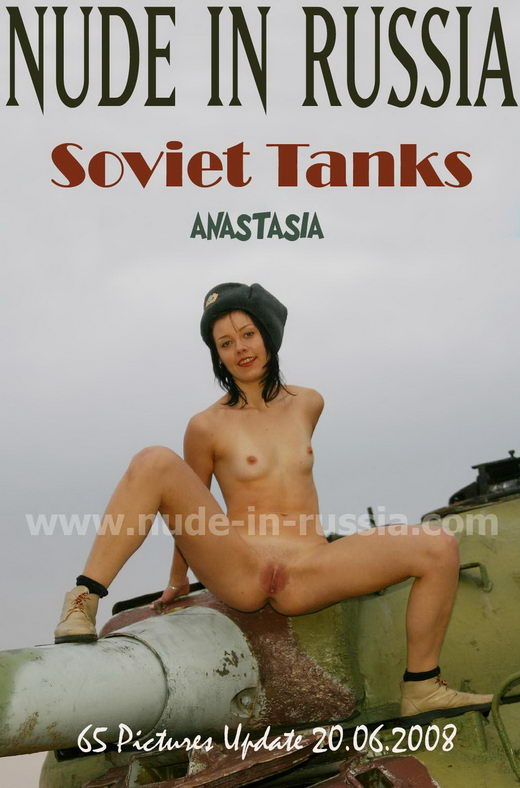 Anastasia - `Soviet Tanks` - for NUDE-IN-RUSSIA