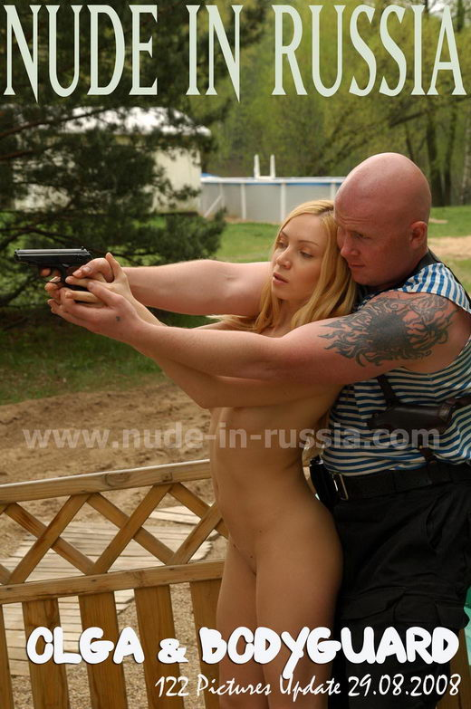 Olga - `Olga & Bodyguard` - for NUDE-IN-RUSSIA