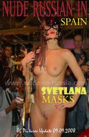 Svetlana in Masks gallery from NUDE-IN-RUSSIA