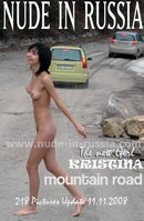 Kristina in Mountain Road gallery from NUDE-IN-RUSSIA