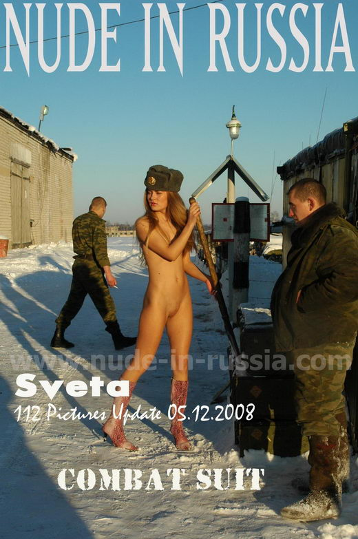Sveta - `Combat Suit` - for NUDE-IN-RUSSIA