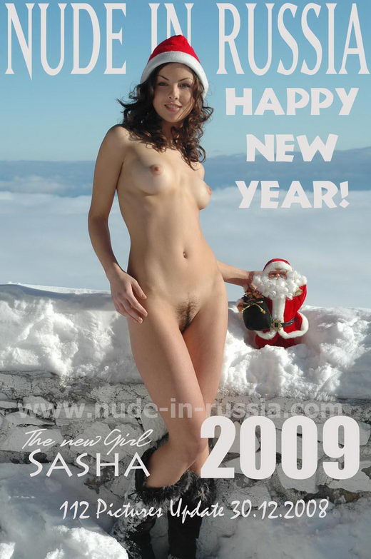 Sasha - `Happy New Year!` - for NUDE-IN-RUSSIA