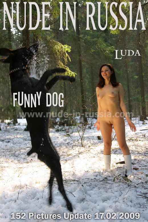 Luda - `Funny Dog` - for NUDE-IN-RUSSIA