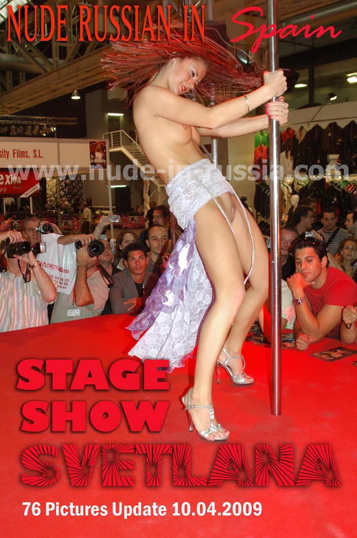 Svetlana - `Stage Show` - for NUDE-IN-RUSSIA