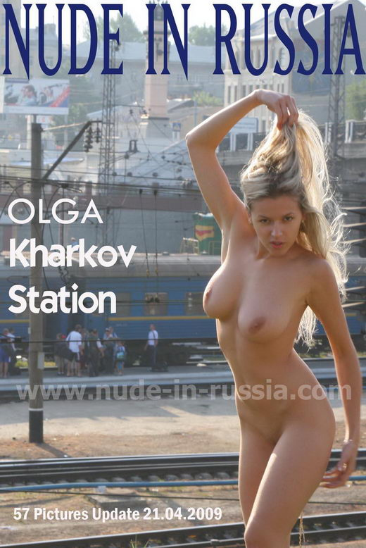 Olga - `Kharkov Station` - for NUDE-IN-RUSSIA