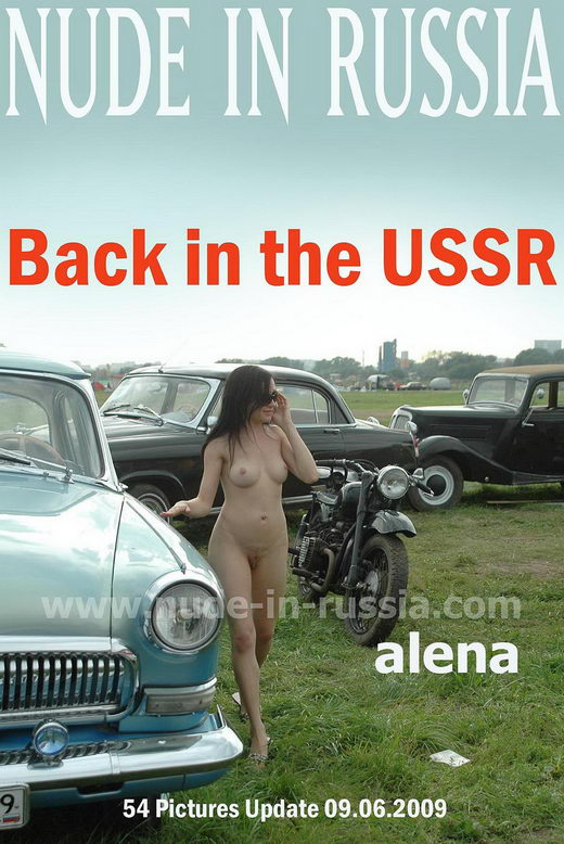Alena - `Back in the USSR` - for NUDE-IN-RUSSIA