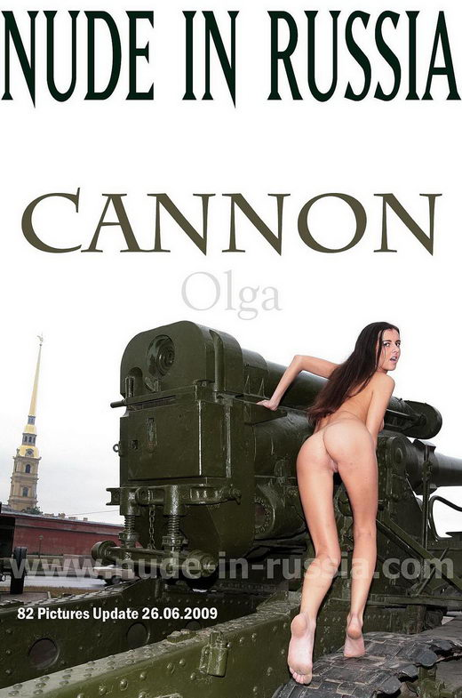 Olga - `Cannon` - for NUDE-IN-RUSSIA