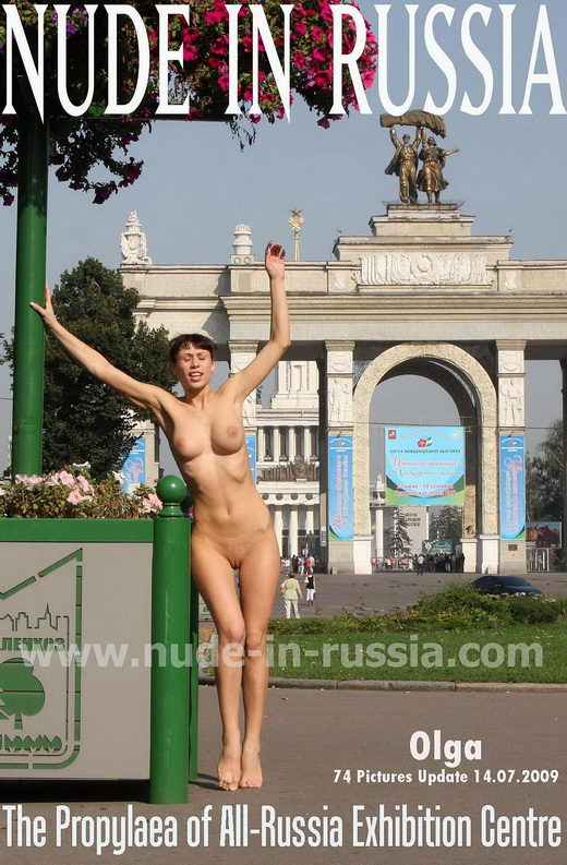 Olga - `The Propylaea` - for NUDE-IN-RUSSIA