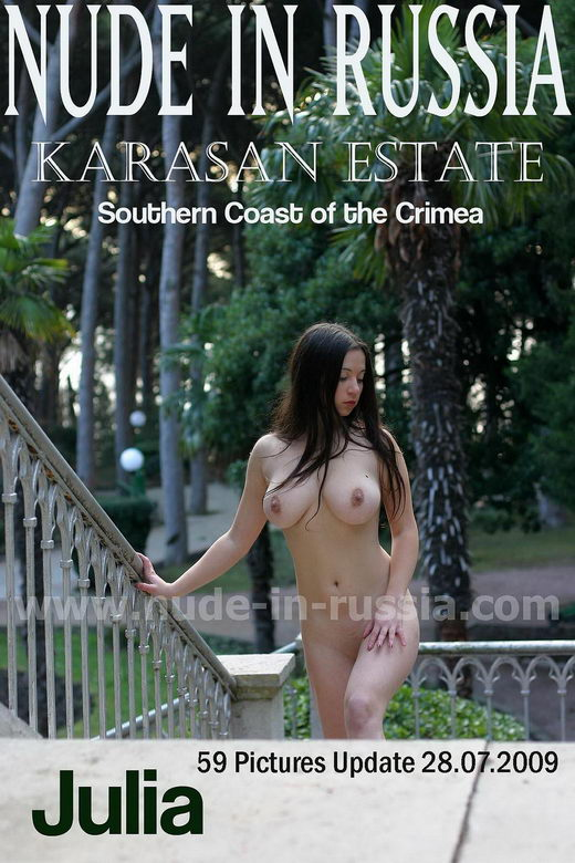 Julia - `Karasan Estate` - for NUDE-IN-RUSSIA