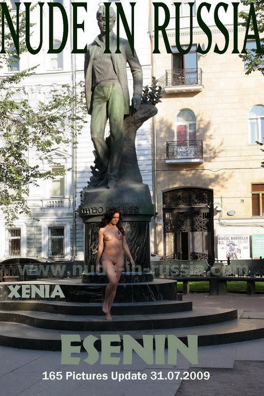 Xenia - `Esenin` - for NUDE-IN-RUSSIA